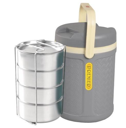 ad30b1383ab Grey Jaypee Insulated Tiffin Box Premier 4
