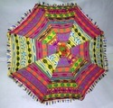 Vintage Multi Color Embroidered Umbrellas