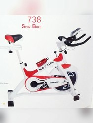 White And Red B.F.L. Spin Bike