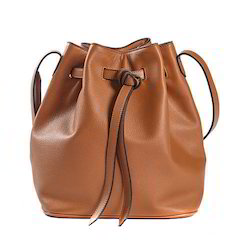 Leather Waypoint Bucket Bag