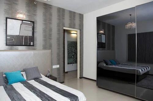 Designer Bedroom Wardrobes at Rs 1650 square feet Designer