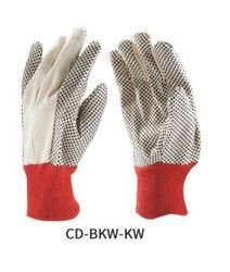 Canvas Dotted Gloves