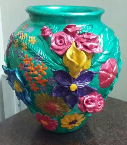 Art Craft Handicraft Flower Vase Manufacturer From Kolkata