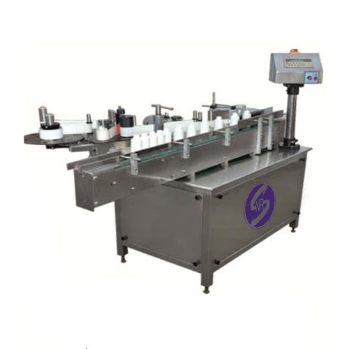 Bottle Sticker Labeling Machine, Capacity: 1.5 to 15 inch