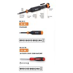 Retra Drive Retractable Cartridge Multi Bit Screwdriver