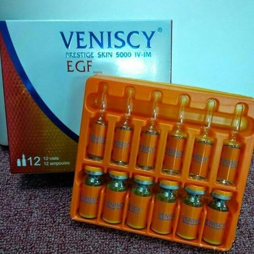 VENISCY Prestige Skin 5000 EGF Glutathione Injection