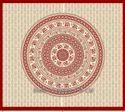 Designer Hand Block Wall Hanging Bed Tapestry Vintage, 700 Grams