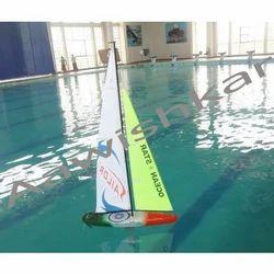 Aawishkar Multicolor RC Sailing Model