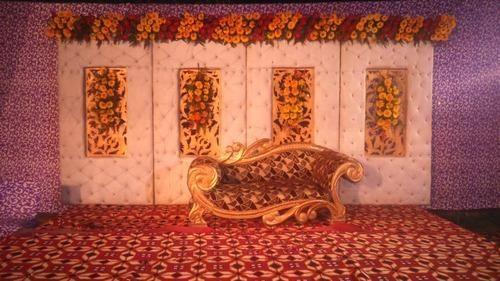 Wedding stage decoration service in badshahpur gurgaon ajanta tent wedding stage decoration service junglespirit Choice Image