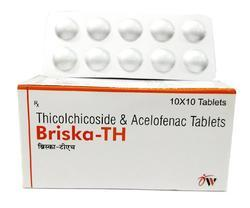 Thiocolchicoside and Aceclofenac Tablets
