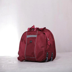 Red Fancy Travel Bag