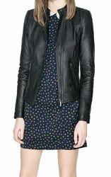 Plain Ladies Leather Jackets