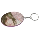 Oval Polymer Key Chain