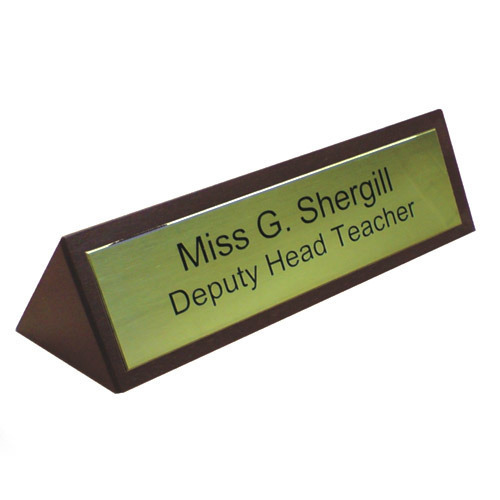 Office Nameplate Printing Service