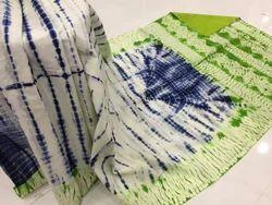 Casual Wear Bagru Hand Block Printed Cotton Saree, With Blouse Piece, Machine