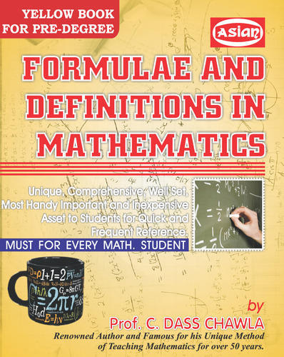 Mathematics Formula Books