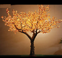 Decorative Yellow Color LED Tree