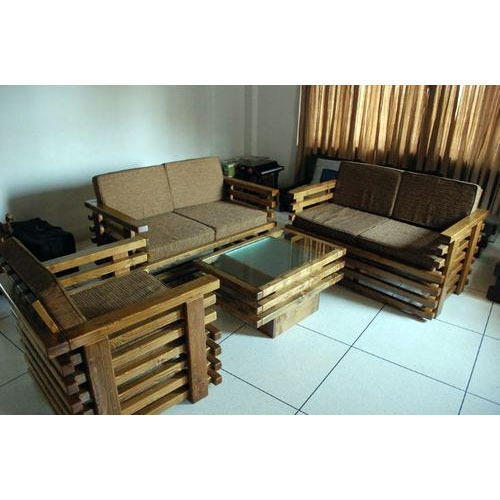Teak Wood Sofa Set At Rs 32000
