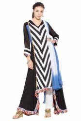 Latest Styling Designer Printed Pakistani Style Long Suit