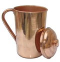 Copper Plain Jug, Size: 2 L
