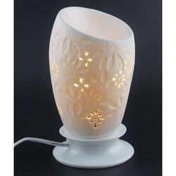 White Floral Electric Diffuser