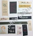 Hard Paper White Printed Fabric Labels, For Garments, Packaging Type: Packet