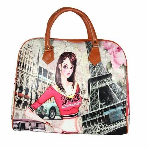 Las Hand Bag Digital Printed Shoulder Cloth Whole Trader From Chennai