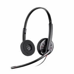 Black Call Center Headset