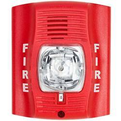 Plastic Red Conventional Fire Alarm System