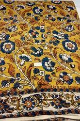 Kalamkari Silk Fabric Sarees