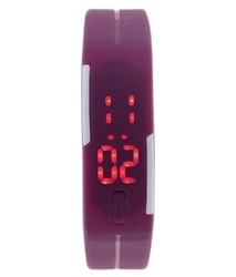 Digital Silicone Bracelet LED Watch