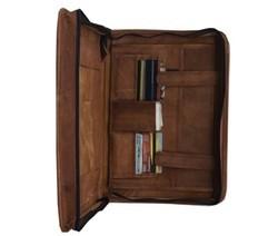 Leather File Folder PortFolio Bag FILE101
