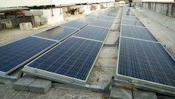 Ballast Type Solar Panel Structure