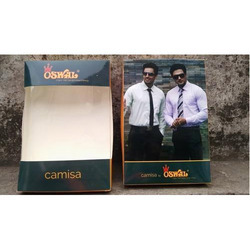 Suiting & Shirting Packaging Box, GSM : 250 - 400