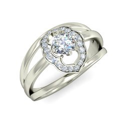 Natural Diamonds Solitaire Rings