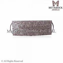 Pave Diamond Bracelets Connector