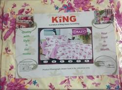 King Crazy Double Bed Sheet