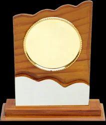 Wavy Wooden Trophy