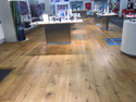 Oak Wood Brown Laminate Wooden Flooring, Features: Syncronising, Thickness: 8mm