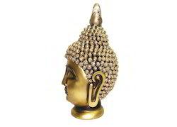 Polyresin Royal Golden Religious Buddha Idol Statue