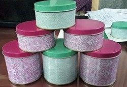 Printed Candle Tin Containers