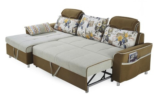Blue Imported Bed Sofa With Storage