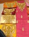 Cotton Satin Work Dress Materials