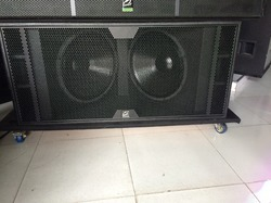 Imported Dual 18 Rcf Style Cabinet, Empty Cabinet - G-audio, New ...