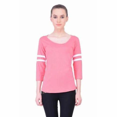 fb15aabeb9 Xs S M L Xl Formal Women Cotton Full Sleeve T Shirts