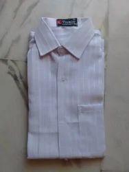 Plain Formal Pure White Cotton Khadi Shirts