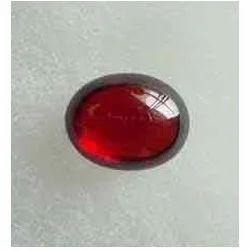 Garnet Oval Cabochon Gemstone