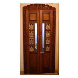 Pooja cabinets in chennai cabinets matttroy for Door design with highlighter