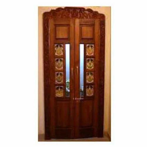 Elegant Pooja Room Door Part 26