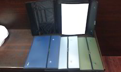 Polypropylene Conference Folder Metalic Colour